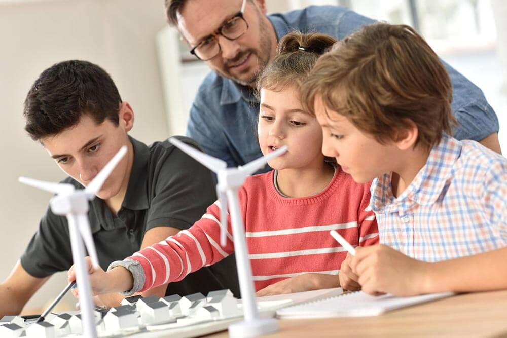 Eco 2 smart Schools Wind Turbine Project
