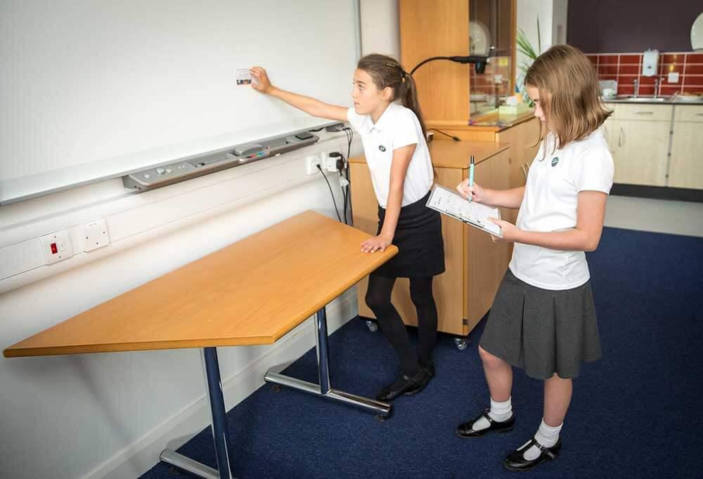 school children working towards smart school environmental award with school